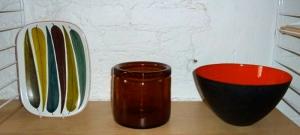 Pieces by Stig Lindberg, Erik Hoglund and Herbert Krenchel