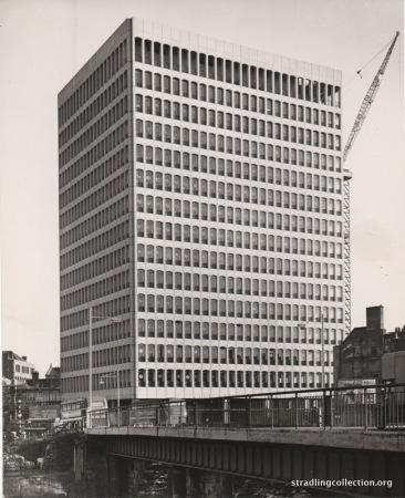 Dickinson Robinson building, Bristol 1963