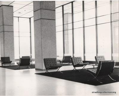 Dickinson Robinson building foyer. 1963