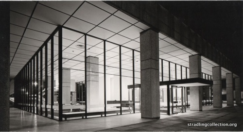 Dickinson Robinson building entrance 1963
