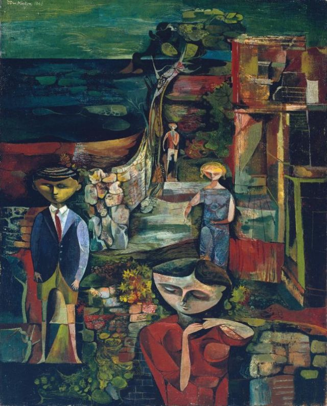 Children by the Sea 1945 by John Minton 1917-1957